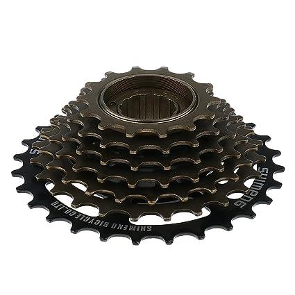 F Fityle Casetes De Rueda Libre De Bicicleta De Montaña MTB De Metal De 7 Velocidades