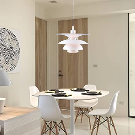 Scandinavian design ph charlottenborg ph 5 4 lamp white pendant scandinavian design ph charlottenborg ph 5 4 lamp white pendant lamp replica mid century mozeypictures Image collections