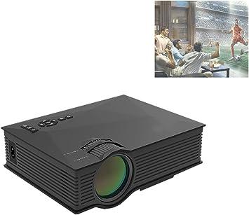 GJZhuan Proyector UC68 - proyector HD para el hogar Mini proyector ...