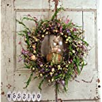 20-Mixed-Flower-Easter-Wreath-with-Bunny