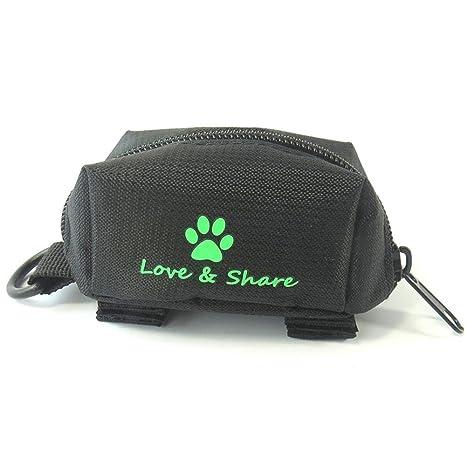 Leegoal Dispensador de bolsas para perro Poop, accesorio para correa – accesorio para caminar,