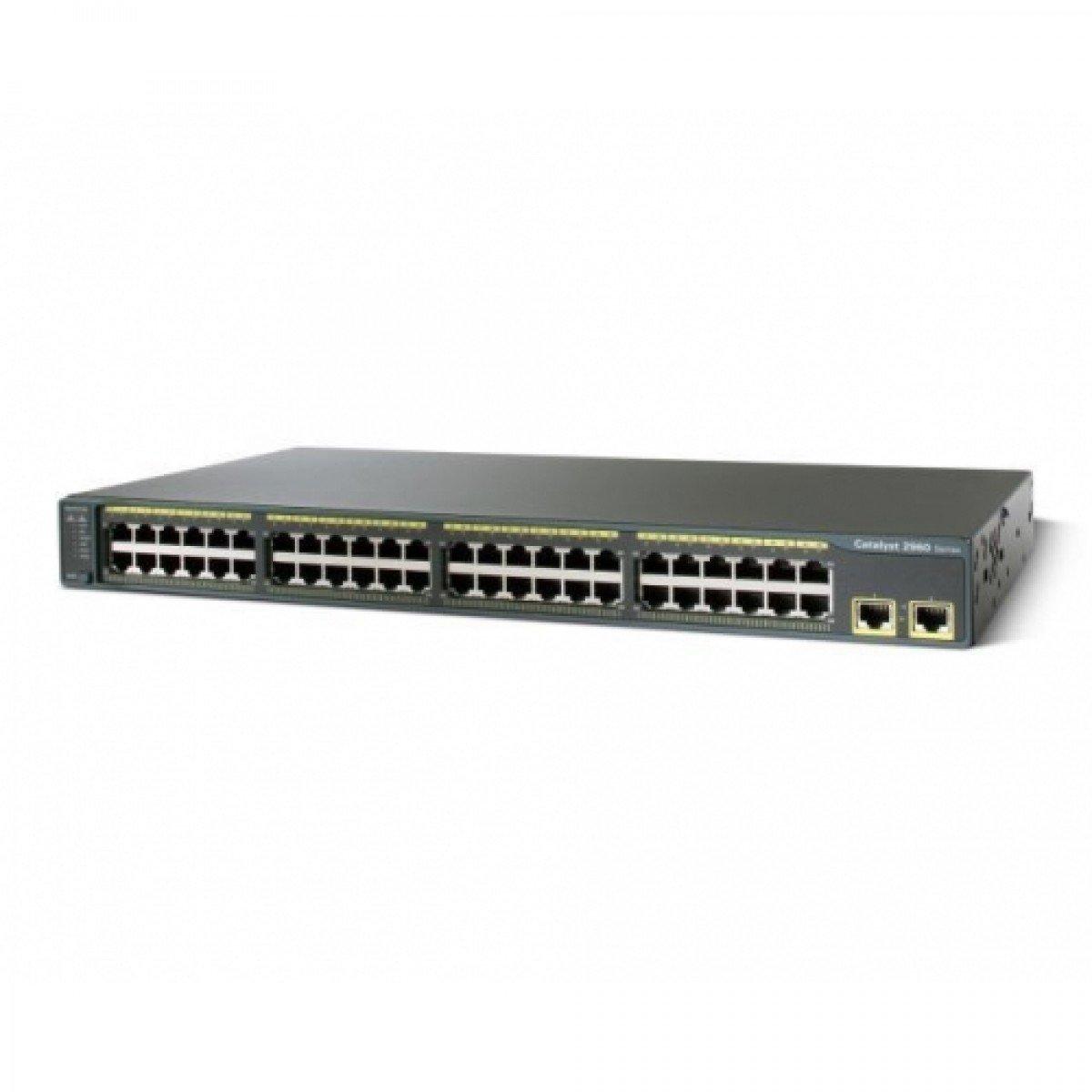Cisco WS-C2960-48TT-L 2960 48 Port 10/100 Catalyst Switch by Cisco