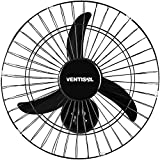 Ventilador de Parede 50cm NEW Preto 220V Ventisol