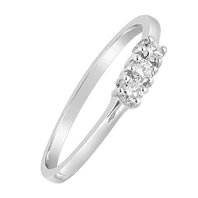 a99ada76b00f Anillo Mujer Compromiso Oro y Diamantes - Oro Amarillo 9 Quilates 375 ♥  Diamantes 0.06 Quilates  Amazon.es  Joyería