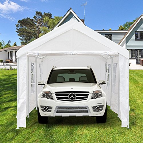 Peaktop 20 X10 Heavy Duty Portable Carport Garage Car