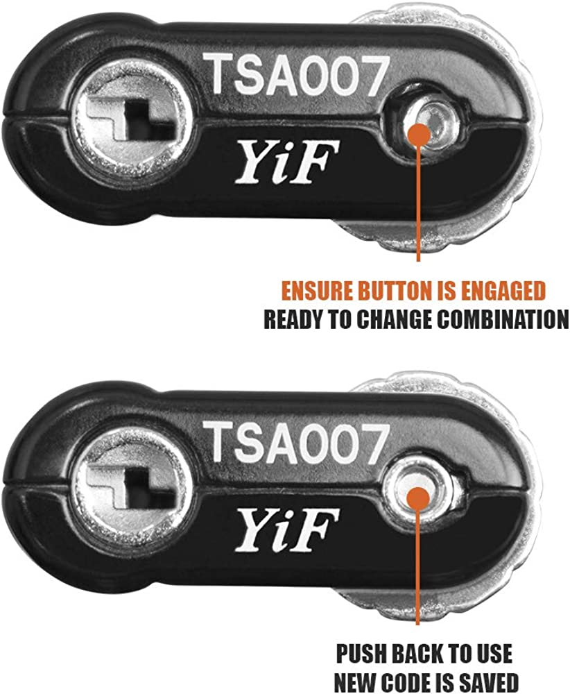 | TSA Approved Luggage Travel Lock, Set-Your-Own Combination Lock for School Gym Locker, Luggage Suitcase Baggage Locks, Filing Cabinets, Toolbox, Case | Luggage Locks