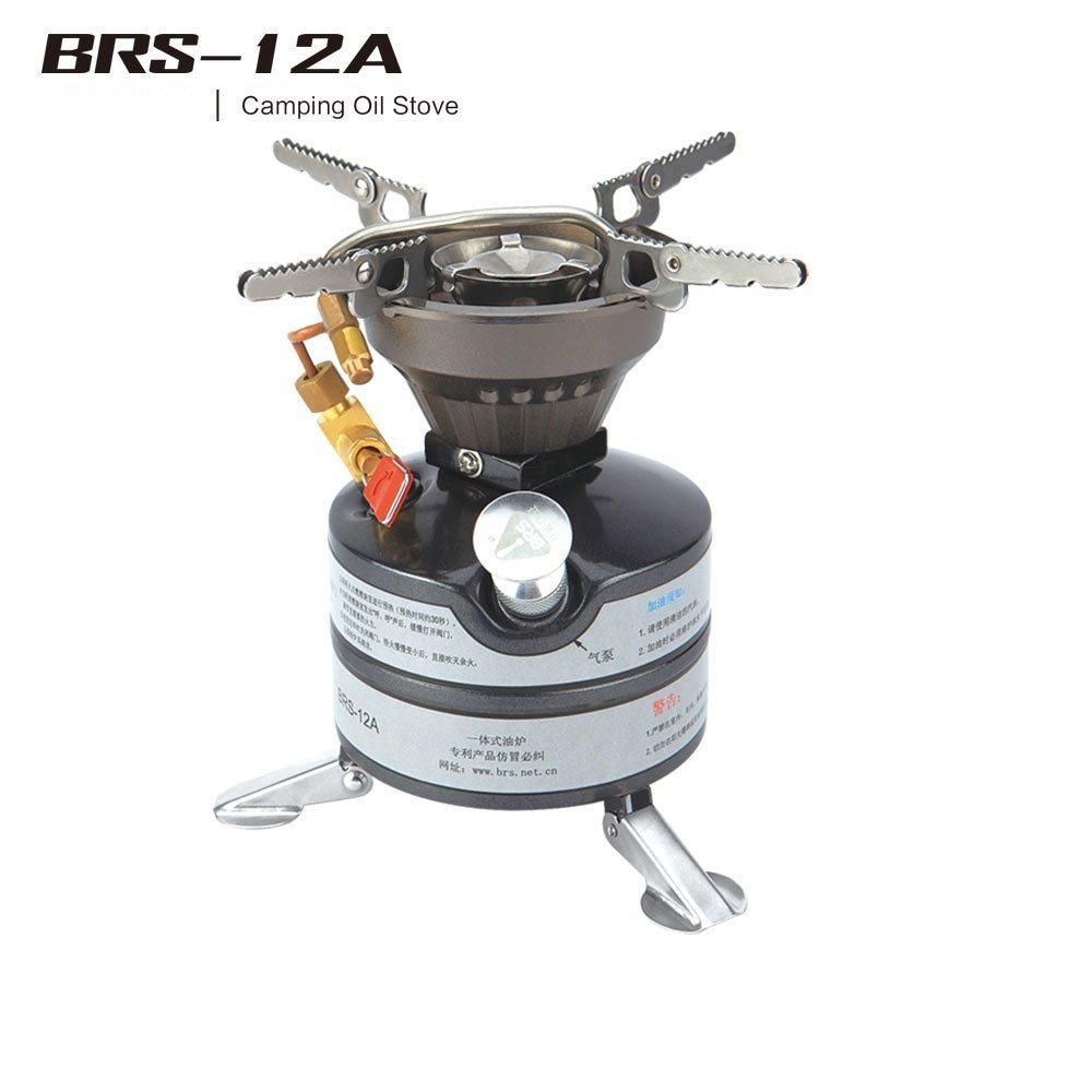 BRS-12A Benzin Kocher Campingkocher Kocher Campingkocher Kocher Außenkocher 2-3 Feldeinsätze Ölkocher 6eac6f