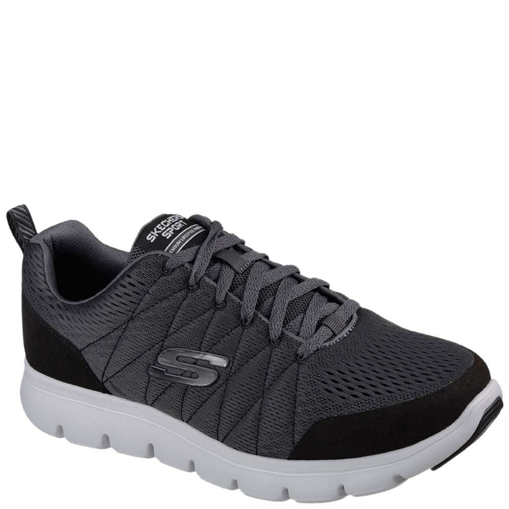 Super cheap Skechers hommes Navy Blue Marauder Mershon Sneakers