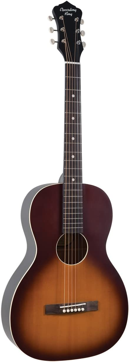 Recording King RPS-9-TS Dirty 30's Series 9 Single 0 Acoustic Guitar