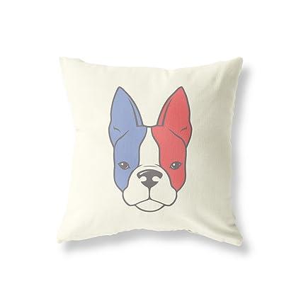 """Bandera de Bulldog Francés diseño de perro de 18 """"x18"""" (45 cm"""