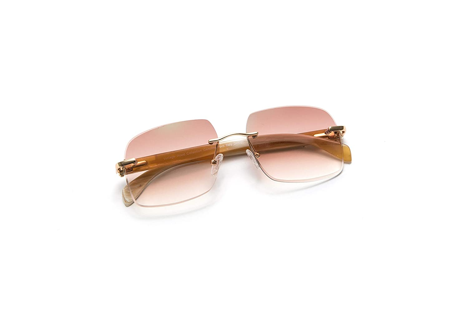 Amazon.com: Vintage Wood Collection - Gafas de sol sin ...