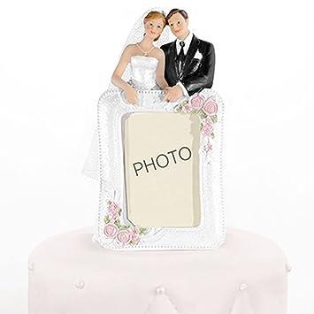 Hochzeitstortenfiguren Fotorahmen 14 Cm Tortenfiguren Hochzeit