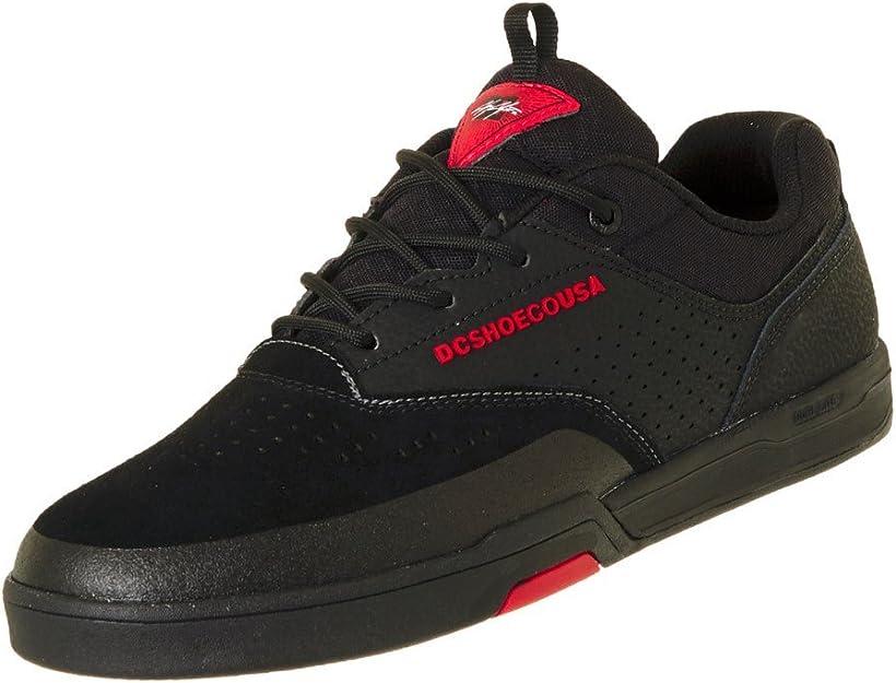 DC Shoes Cole Lite 3 Black Black Red