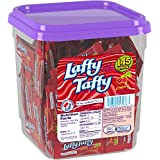 Wonka Laffy Taffy Jar, Cherry, 145-Count