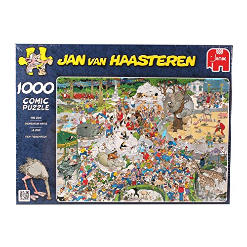 Jumbo Jan Van Haasteren The Zoo Puzzle (1000-Piece)