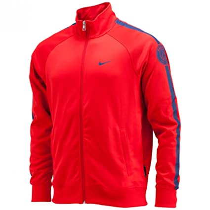 Nike 2014 - 2015 PSG Core - Chaqueta para Hombre (Rojo ...