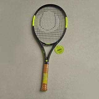 Racchetta Da Tennis Racchetta Da Tennis Professionale Di Alta Qualità Racchetta Da Tennis Unisex Single Shot Carbonio Una Racchetta Da Tennis Per Principianti