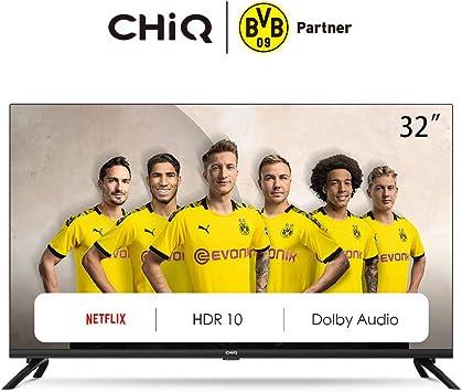 CHiQ L32H7N LED TV, HD, Smart TV, 32 Pulgadas Televisor ...