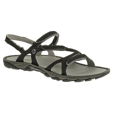Merrell womens Merrell Ladies Enoki Convert Hydro Walking Sandals J24572 Black  Black Synthetic UK Size 3