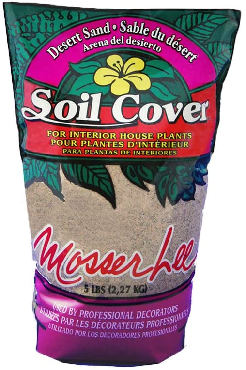 Mosser Lee ML1110 Desert Sand Soil Cover, 5 Pound : Outdoor Decorative Stones : Garden & Outdoor