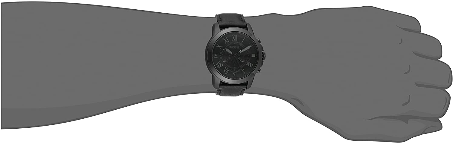ab471df8a Fossil Men's Grant-FS5132 Black Watch: Fossil: Amazon.ca: Watches