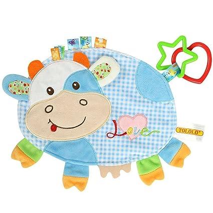 nuolux dibujos animados de peluche animales Dormir juguete edredones juguete se puede lavar recién nacido Baby