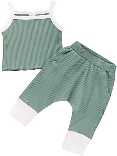 1-5Years Unisex Baby Sleepwear Infant Boys Girls Tight-fit Short Pajama Set Toddler Pjs Clothes