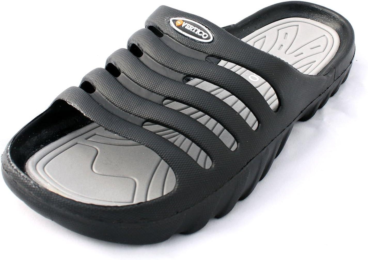| Vertico - Shower Sandals | Slide-On and Comfortable Pool-Side Shoes | Sport Sandals & Slides