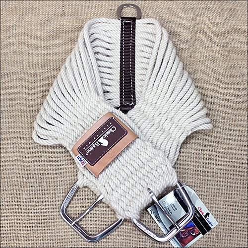 Classic Equine Blended Mohair Roper Cinch - Size:36 Color:Natural