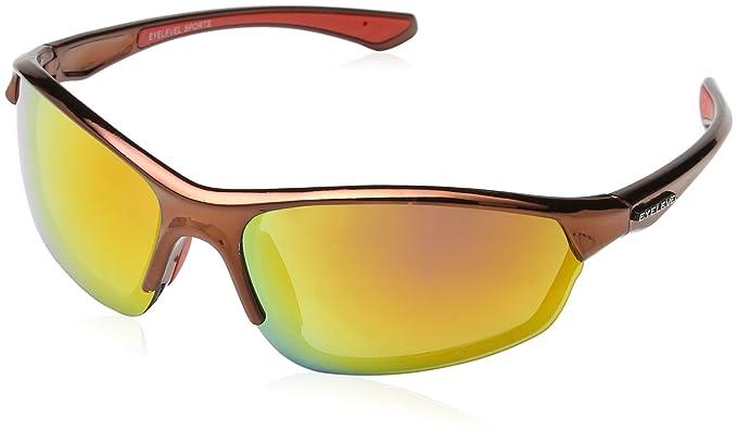 Eyelevel Supreme Herren Sonnenbrille Gr. Einheitsgröße, Orange (Supreme Red)
