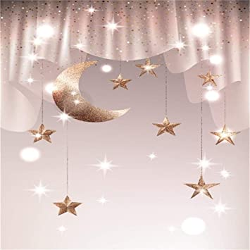 8x12 FT Educational Vinyl Photography Backdrop,Phases on The Moon as seen from Earth Celestial Rotation Astrology Cycle Background for Baby Birthday Party Wedding Studio Props Photography