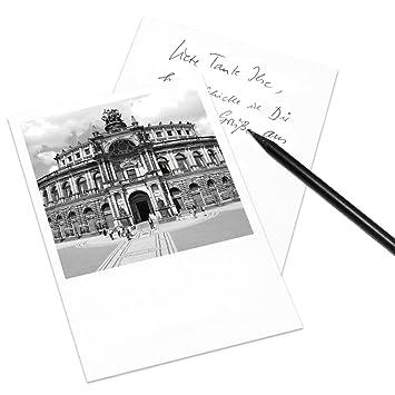 Cognosco Postkarte Dresden Im Polaroid Look Motiv Semper Oper