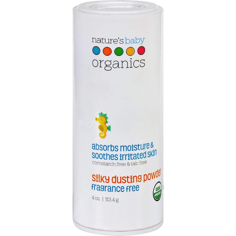 Nature's Baby Organics Dusting Powder, Fragrance Free, 4 oz. Natures Baby Organics B002WC8ESE