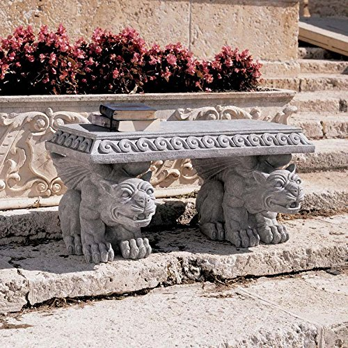 Medieval (bench) Gargoyle Furniture Outdoor Gothic seat