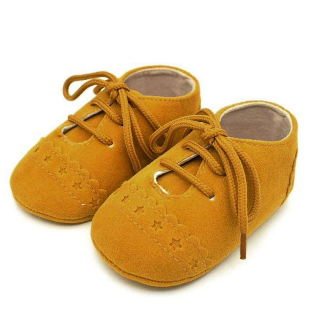Fabal Baby Toddler Shoes Sneaker Anti-slip Soft Sole Lace Up Shoes