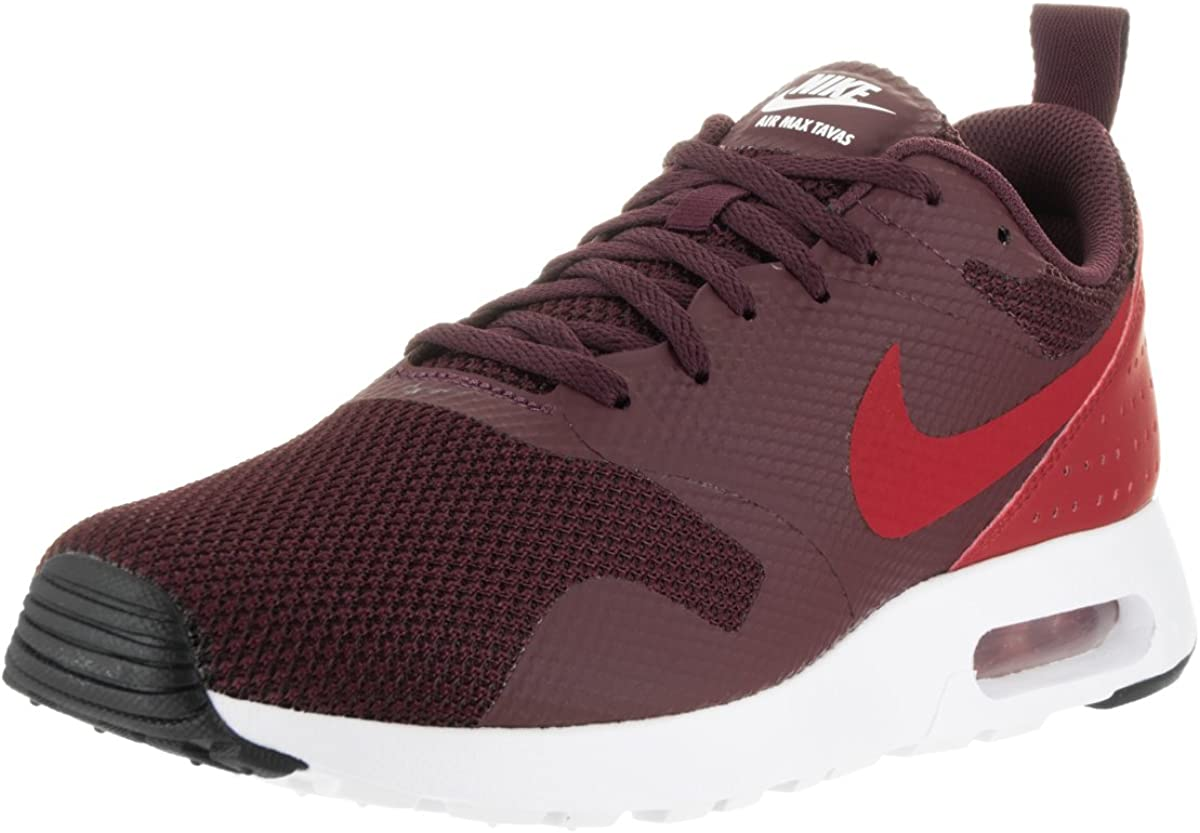 NIKE Men Air Max Tavas Sneaker – Night Maroon