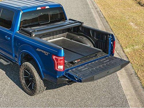 Bedslide S Split Deck Sliding Bed Drawer For Silverado Sierra Ram F150 F250 F350 Titan Tundra 8' Long Bed Trucks