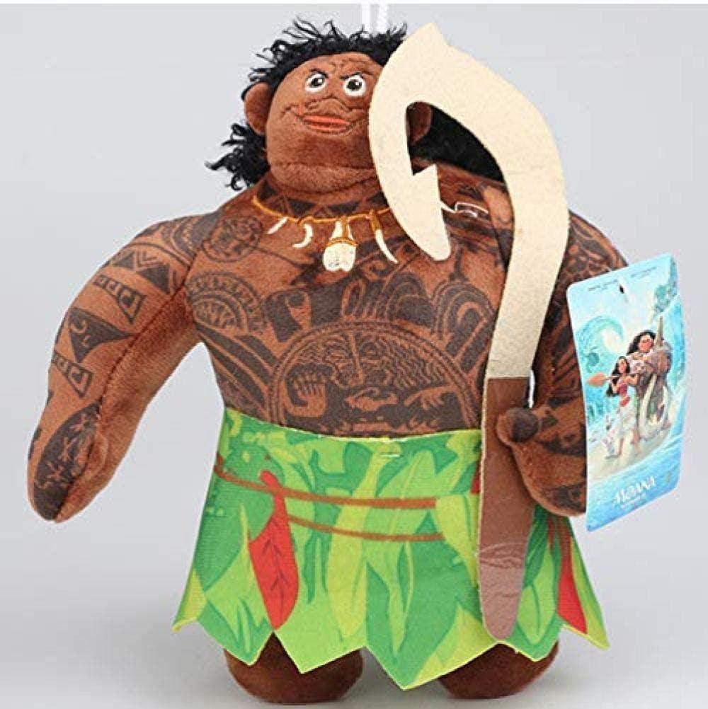 EREL Juguete Peluche de Peluche Moana Mu/ñeca Mu/ñeca Maui Heihei Pua Soft Stuffed Toy Kids Cumplea/ños 20cm Dedu