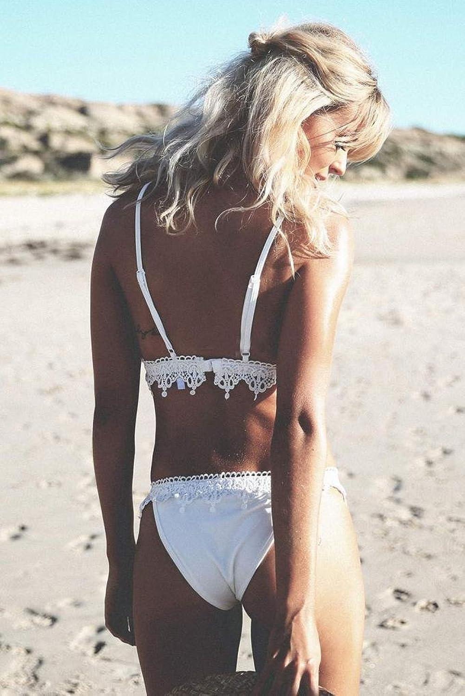 @ Nation New Women Lace Suspender Swimsuit Sexy Bikini