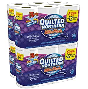 Quilted Northern Ultra Plush, Double Rolls (96 double rolls = 192 regular rolls)