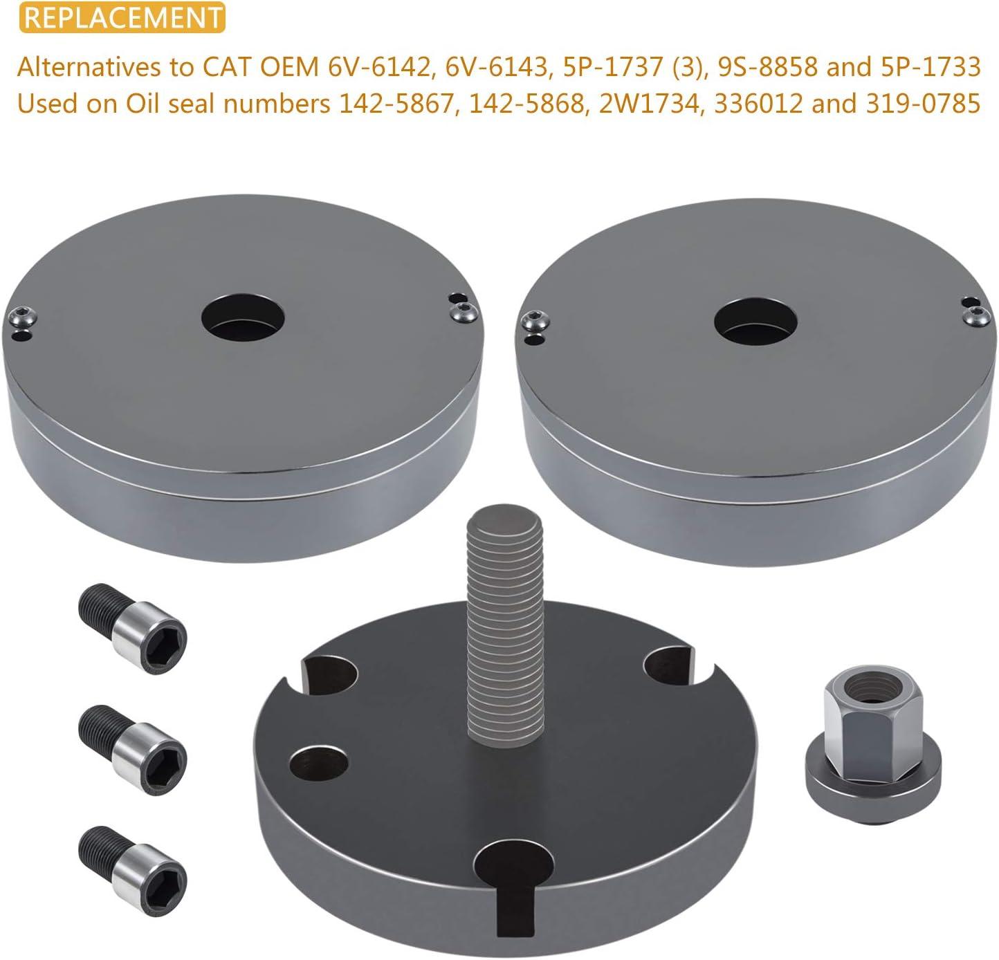 Diesel Front /& Rear Crankshaft Seal//Wear Sleeve Installer for CAT 3406 3408 C-15