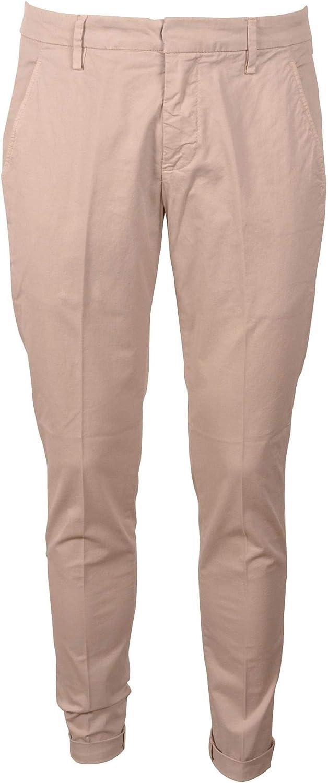 Dondup Mens Up235gs021uptddu020 Beige Cotton Pants