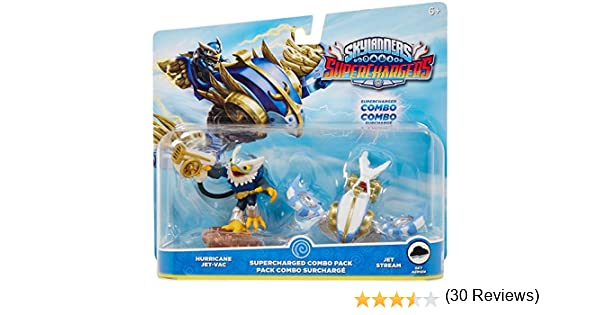 Skylanders Superchargers Supercharged Combo Pack - HURRICANE JET ...