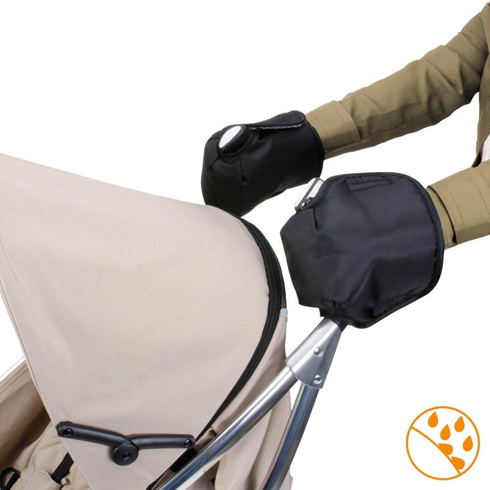 schwarz//grau DIAGO 30060.90772 Thermo Handschuhe Kinderwagen