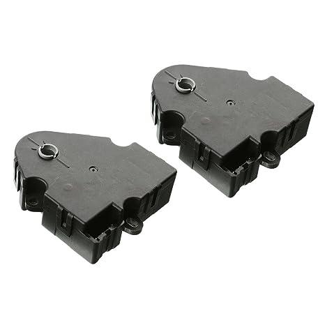 amazon com: a-premium hvac a/c heater blend door actuator for saturn vue  2002-2007 chevrolet equinox 2005 mode and defrost actuator 2-pc set:  automotive