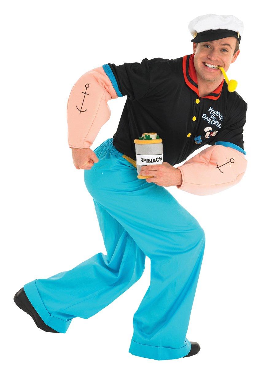 Rubie\'s Official Popeye Fancy Dress - Standard: Amazon.co.uk: Toys ...
