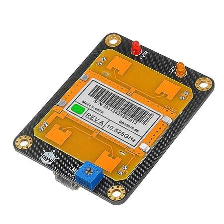 Nuofake Módulo de Sensor de Movimiento de microondas Detección sin ...