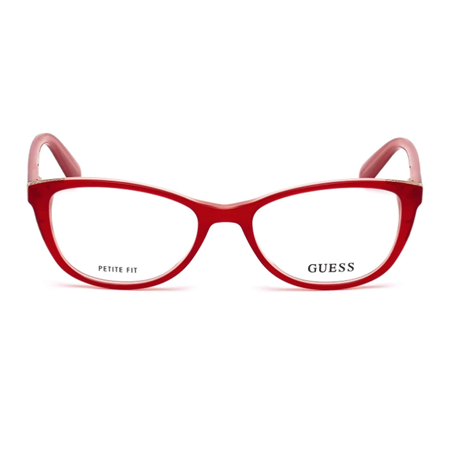 92dcb5143ed Optical frame Guess Acetate Red (GU2589 068) at Amazon Women s Clothing  store