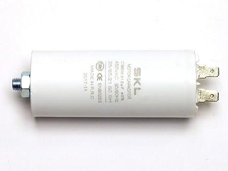 Betrieb 6uF 425VAC D32x55mm ±5/% für Motoren 1 pcs Kondensator