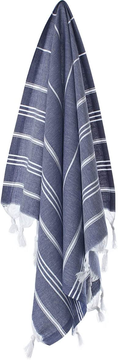 Absorbent Ultra-Soft Traditional Peshkir /& Peshtemal for Bathroom 100/% Natural Cotton CACALA Pure Series Turkish Hand Towels Hypoallergenic Kitchen and Baby Care Fast-Drying